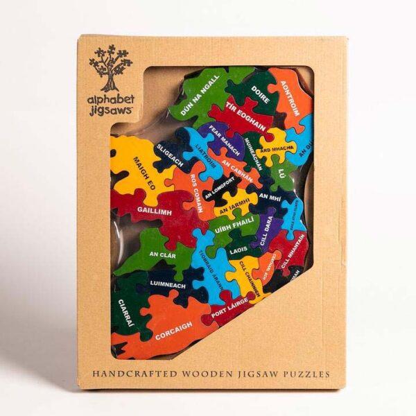Counties of Ireland Alphabet Jigsaw
