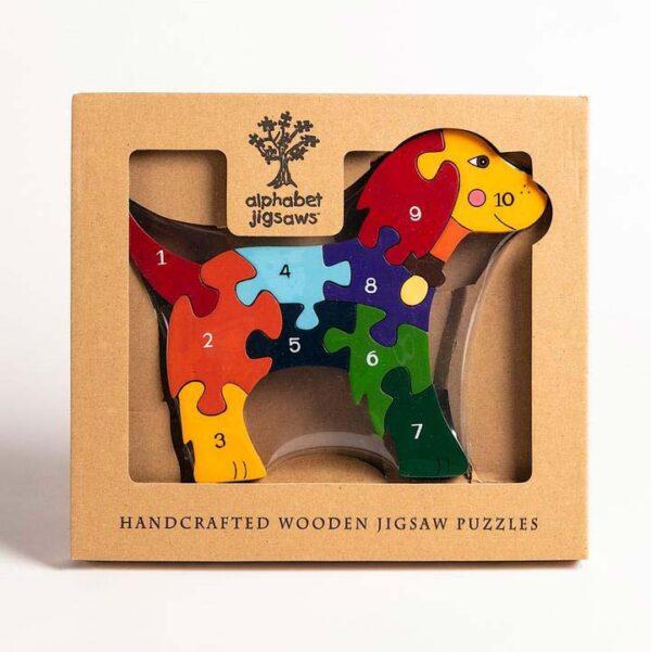 Dog Alphabet Jigsaw