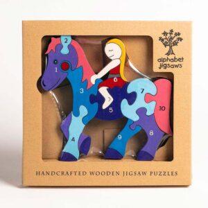 Horse Alphabet Jigsaw