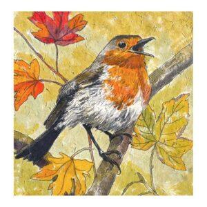 Annabel Langrish Autumn Robin