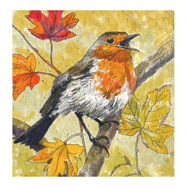 Annabel Langrish Autumn Robin