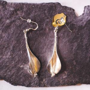 Lily Earrings – Silver