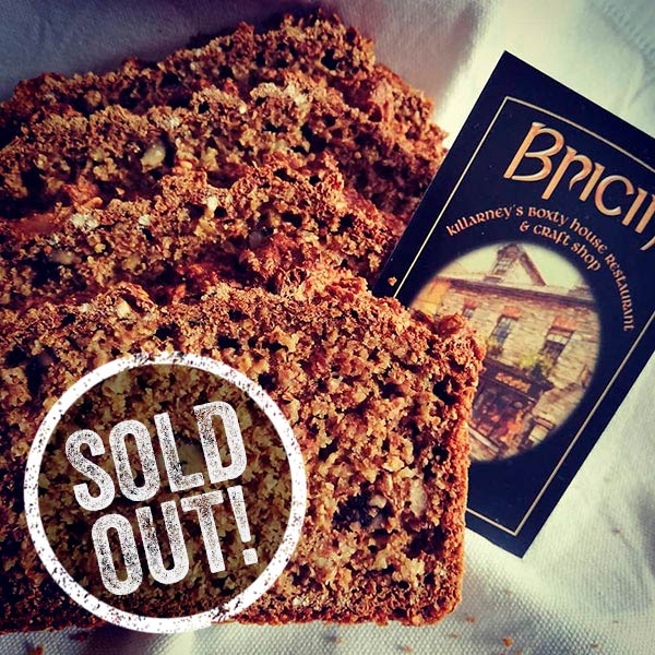 Bricin brown bread sold out